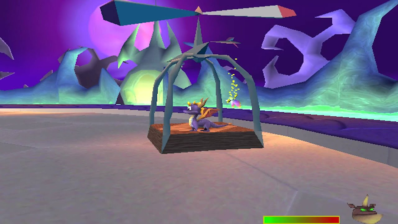 Spyro: Year of the Dragon - PS1 - Play Retro Games Online