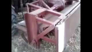 Самодельная фреза для трактора Т-25   в работе(, 2014-10-11T16:30:28.000Z)