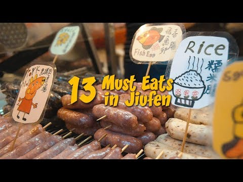 Jiufen Food Guide - Things to eat in Jiufen   The Travel Intern