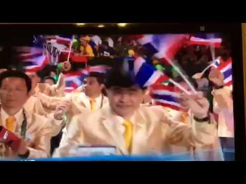 ขบวนพาเหรดของประเทศไทยในกีฬาโอลิมปิค