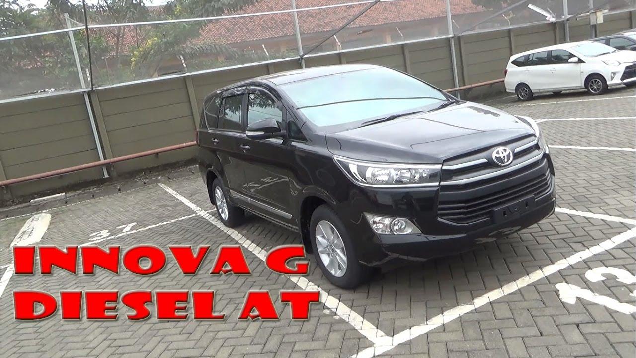 All New Kijang Innova 2.4 G At Diesel Grand Avanza Veloz 2017 Review Toyota 2 4 Tahun Youtube