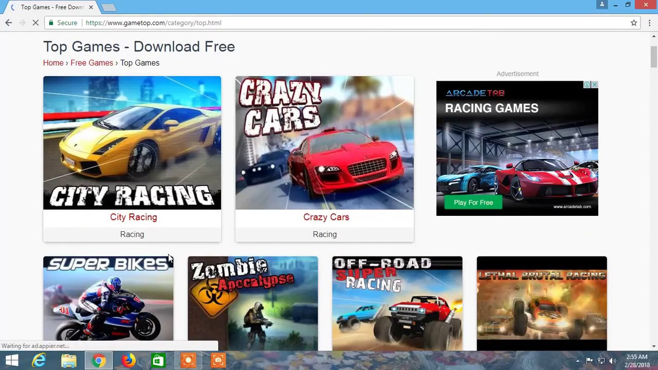 car games download free for laptop