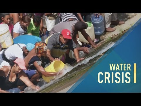 Lack of water disrupts lives and creates a threat to public health In Venezuela thumbnail