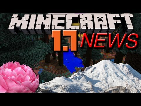 Minecraft News: 1.7 Double Biomes, Ground Pound, Snowy Peaks, Paeonia, Podzol & Sunflower Secrets!