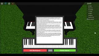 Con Te Partiro (Time To Say Goodbye) On A Roblox Piano (With Sheets)