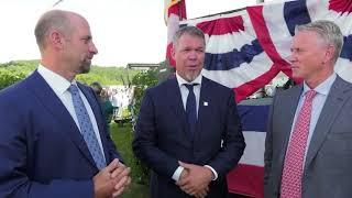 Tom Glavine, John Smoltz welcome Chipper Jones to Hall of Fame club