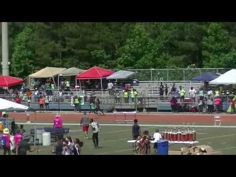 Run U Xpress Old School Women 54.83s 4x100m Relay Heat 2 Mark Trail Invitational 2016