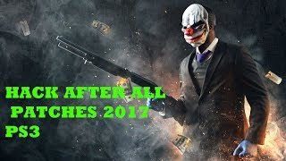 How to hack Payday 2 with redeye {2017} after all patches!!!!  (PS3)