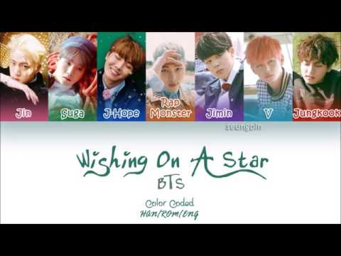 BTS (防弾少年団) - Wishing on A Star (Color Coded Han_Rom_Eng Lyrics)