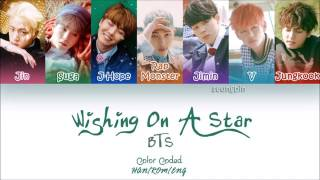 Video BTS (防弾少年団) - Wishing on A Star (Color Coded Han_Rom_Eng Lyrics) download MP3, 3GP, MP4, WEBM, AVI, FLV Juli 2018