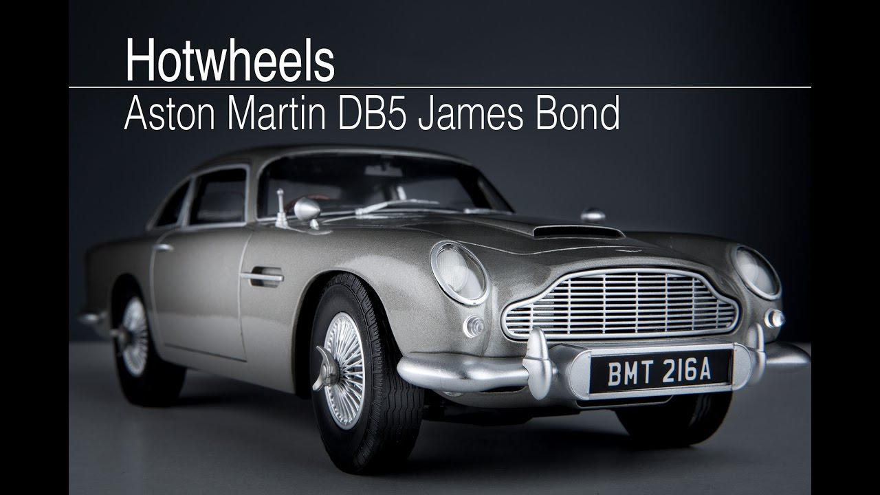 hotwheels aston martin db5 james bond - youtube