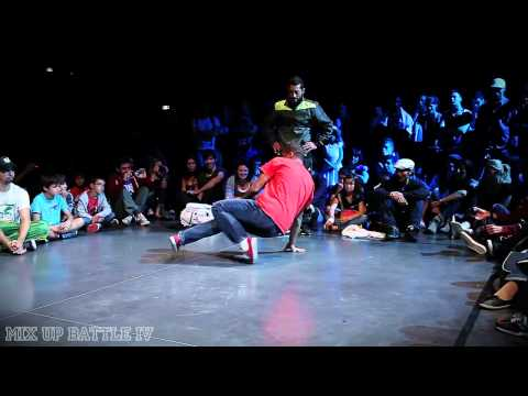 Mix up battle 2011 Break Dance Yaman/Chakal vs Hocine/Nabil