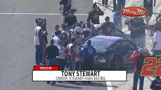 Stewart: I had Logano 'hemmed up' at Auto Club in 2013