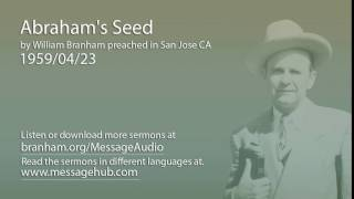 Abraham's Seed (William Branham 59/04/23)