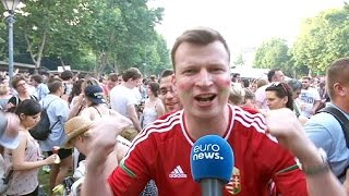Euro 2016: Hungary celebrates team success
