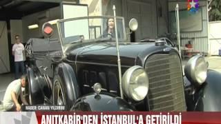 ATATÜRK'ÜN MAKAM ARACI RESTORE EDİLİYOR - ANTİKA OTOMOBİL FEDERASYONU(AOF)