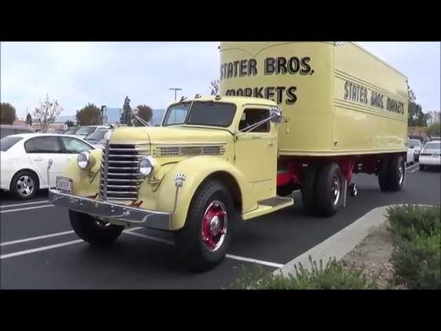 Stater Brothers 1947 Diamond T Truck With 1948 Trailer