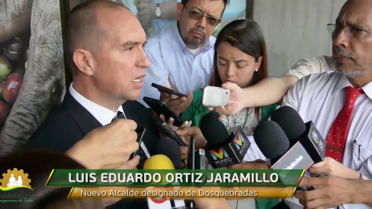 Resultado de imagen para Alcalde de Dosquebradas, Luis Eduardo Ortiz Jaramillo