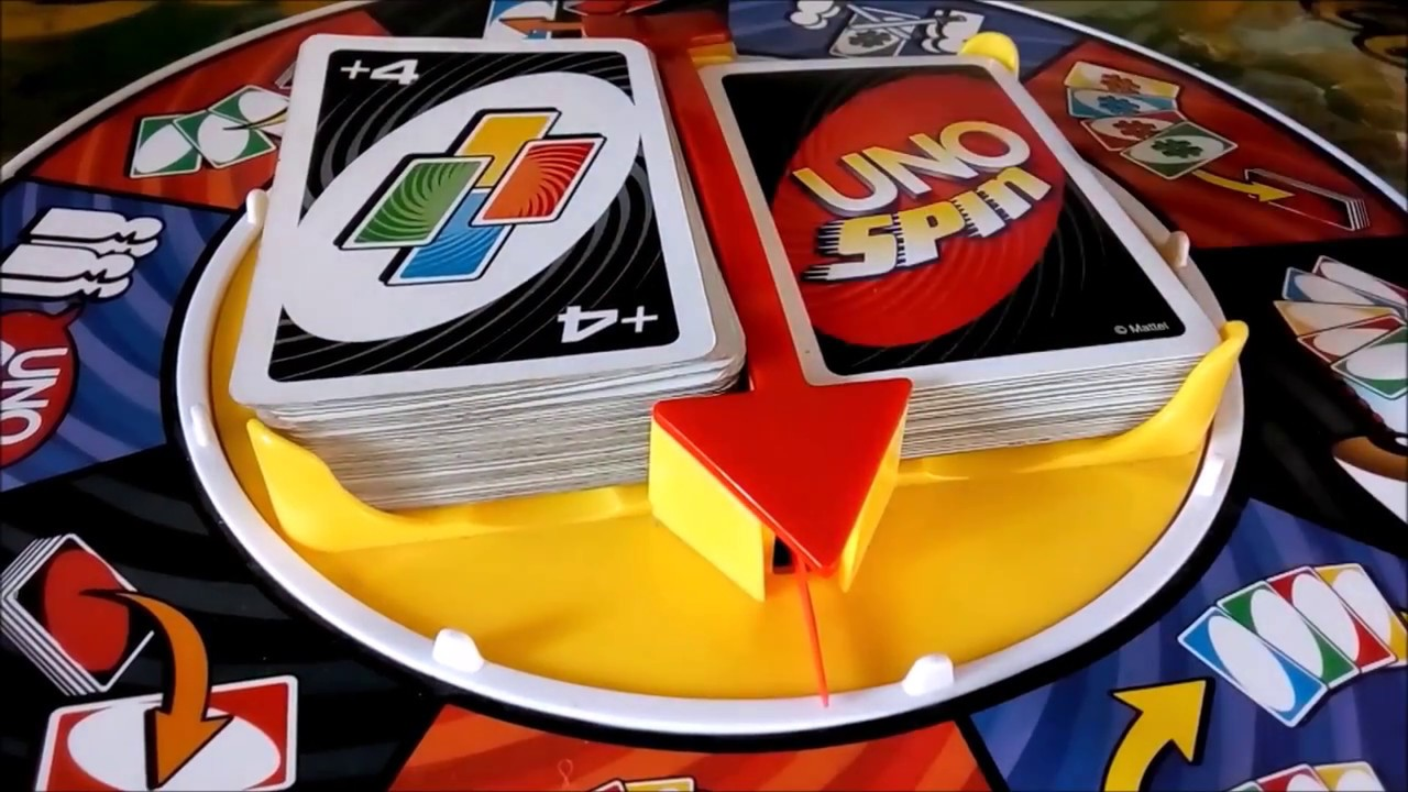 Game of Cards (UNO Spin [cómo perder amistades]) - YouTube