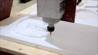 Tagliare il Forex da 20 mm con Pantografo Multypla