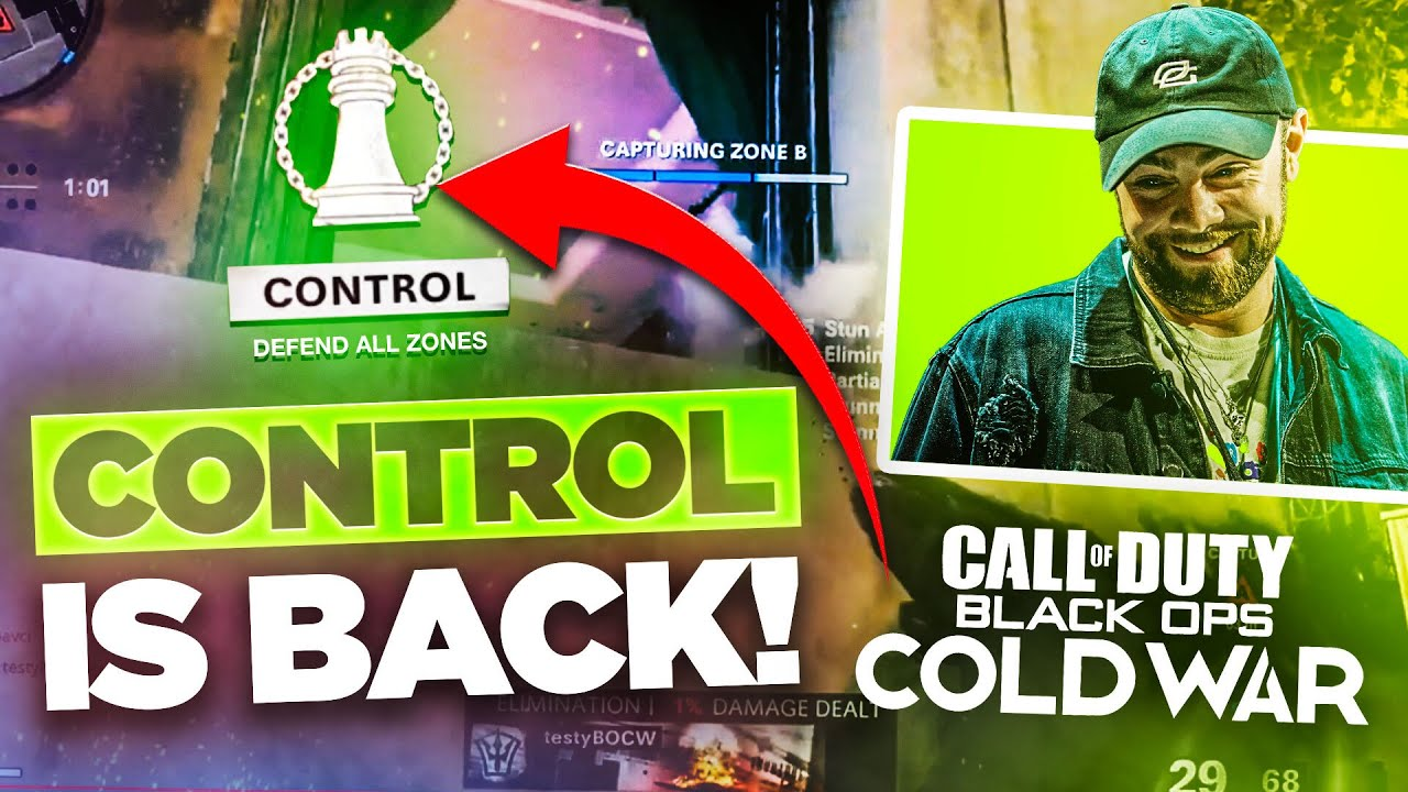Control is BACK in COD?! | Black Ops Cold War Alpha Gameplay