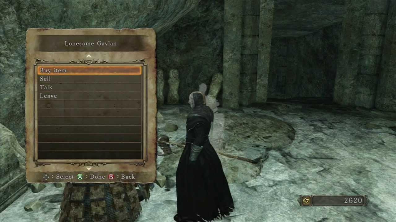 Gavlan The Lonesome Third And Final Location Dark Souls 2