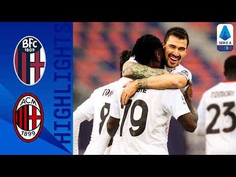 Bologna AC Milan Goals And Highlights
