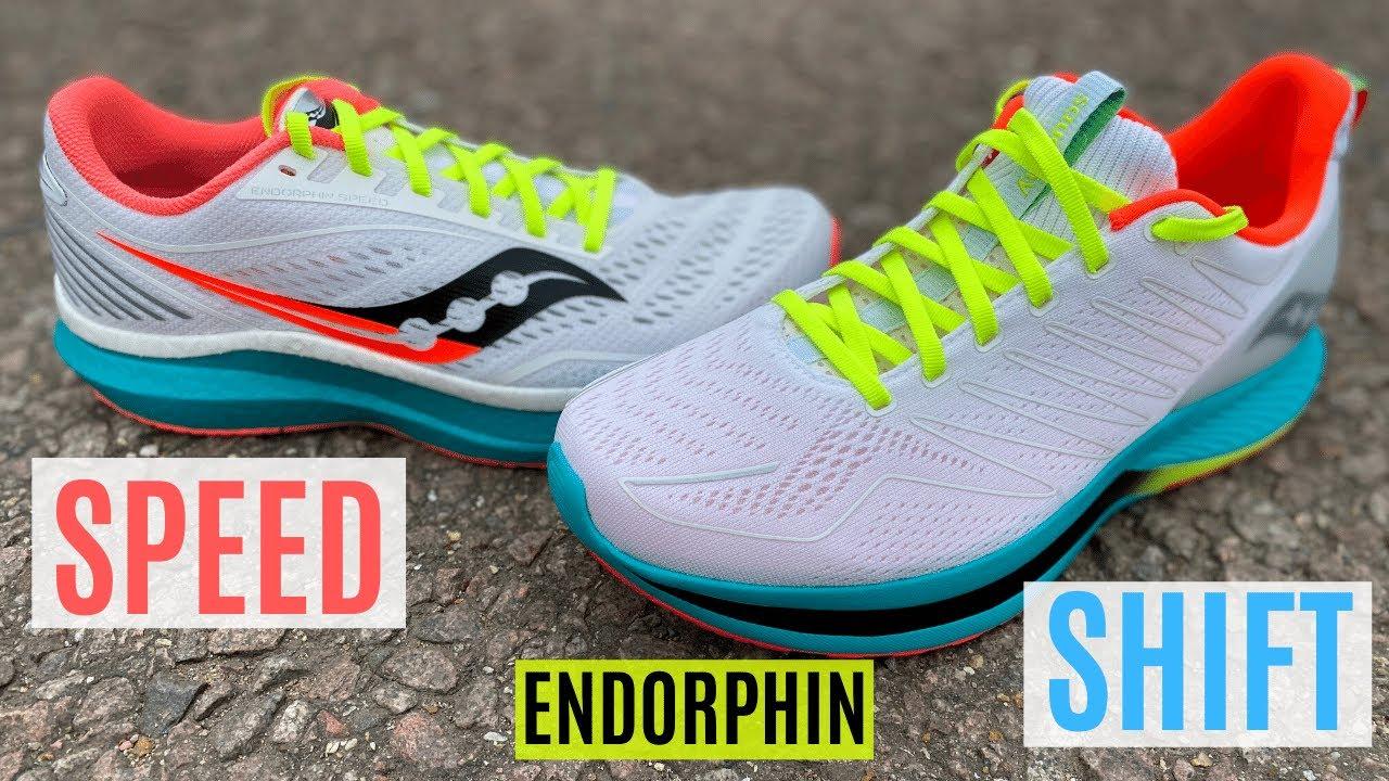 Saucony Endorphin Speed vs Shift