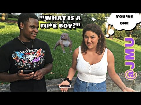 WHAT MAKES SOMEONE A H*E?!?!? || Public Interview @JMU