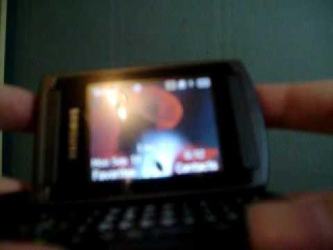 Samsung U740 Preview