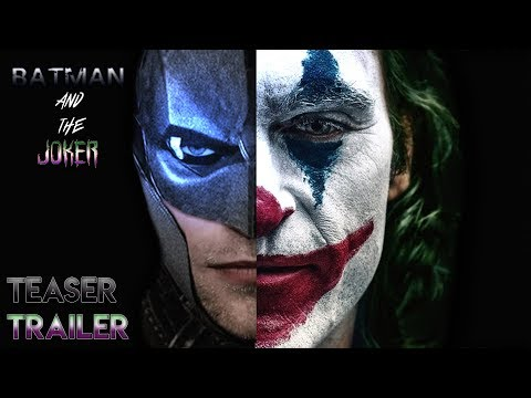 Batman And The Joker (2022) Teaser Trailer Concept - Robert Pattinson, Joaquin Phoenix