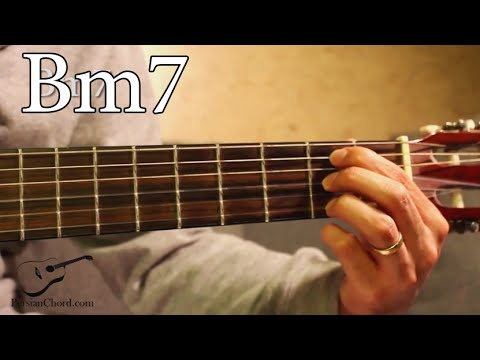 Bm7 Chord on Guitar - YouTube