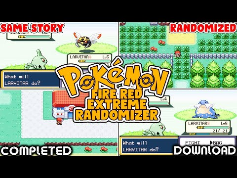 Pokemon Fire Red Extreme Randomizer Nuzlocke + Download Link (2020)