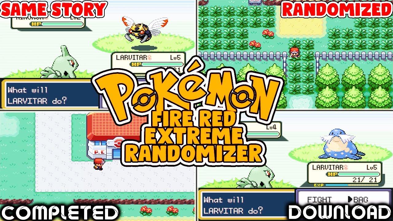 Pokemon Fire Red Nuzlocke Randomizer Rom
