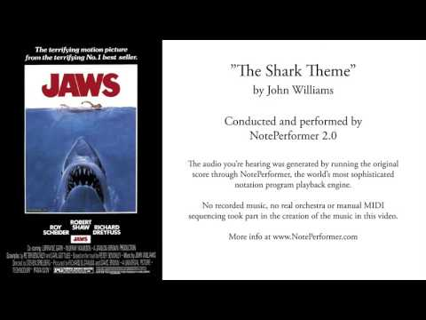 NotePerformer 2: The Shark Theme (from JAWS) by John Williams