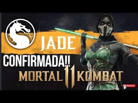 MORTAL KOMBAT 11 - JADE CONFIRMADA!! #MK11 #OFICIAL #REVELAÇÃO thumbnail