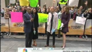 Even more of the Video Mic Flag on the TODAY SHOW.avi