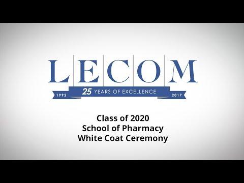 School of Pharmacy Class of 2020 White Coat Ceremony