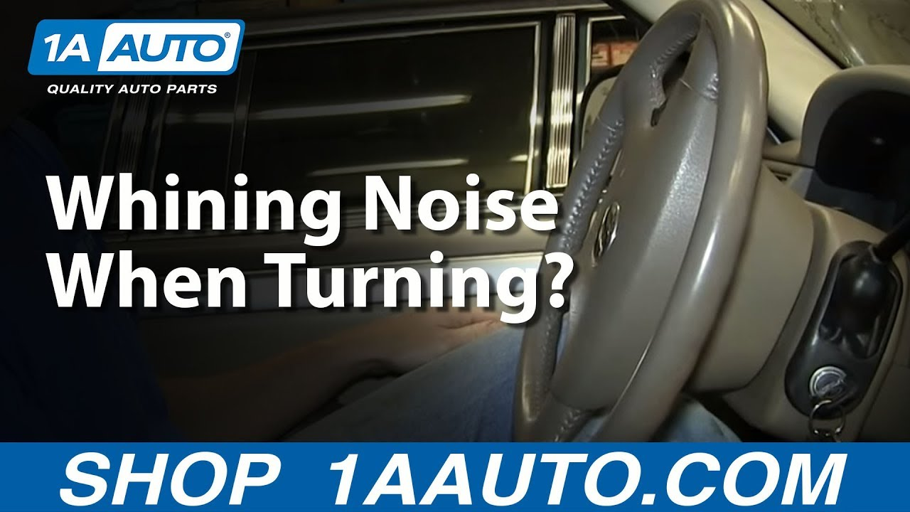 Why Is My Car Making a Whining Noise When I Turn The Steering Wheel?