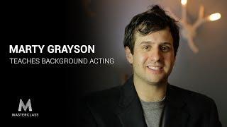 Marty Grayson Teaches Background Acting (MasterClass Parody)