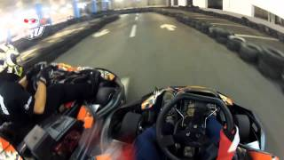 KRU/a-cool vs TTP vs USKOK Racing Team vs MUSAKI @ Karting Arena Split / heat 3