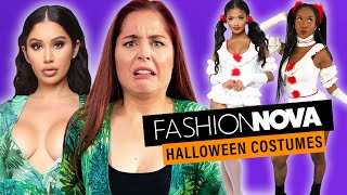We Try Fashion Nova Halloween Costumes!