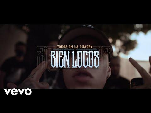 Смотреть клип Dharius Ft. C-Kan, Gera Mx, Santa Fe Klan Y Neto Peña - Todos En La Cuadra Bien Locos