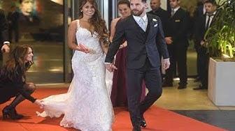 Celebrity at Messi Wedding - Shakira, Neymar ,Pique ,Aguero Wedding Moment