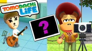 Tomodachi Life 3DS Real Mii Photo, Slender Love, K.K. Guitar Gameplay Walkthrough PART 23 Nintendo
