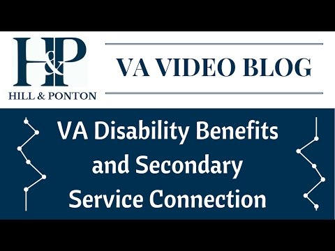 VA Disability Benefits and Secondary Service Connection - YouTube