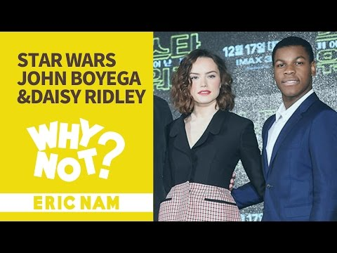 [와이낫] 스타워즈의 역대급 주연을 만나다 l Star Wars John Boyega & Daisy Ridley Interview with Eric Nam