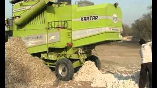 KARTAR HARVESTER in COTTON HARVESTING (stationary).....