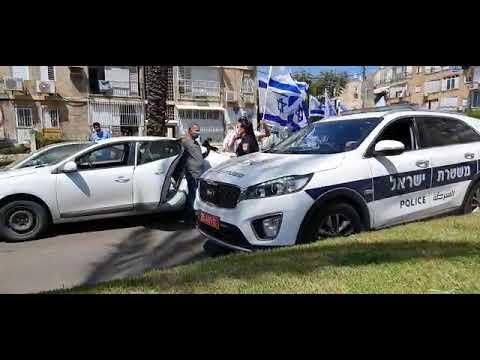 צפו: שיירת רכבים לחיזוק תושבי דרום תל אביב מול אלימות המסתננים