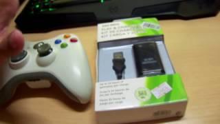 Bateria para mando XBOX 360 con carga micro USB!!